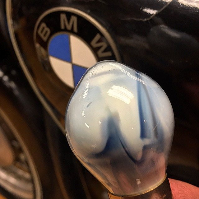 Even blown bulbs are pretty when they are vintage. #BMWBavarianblue #BMWVintage #6volt