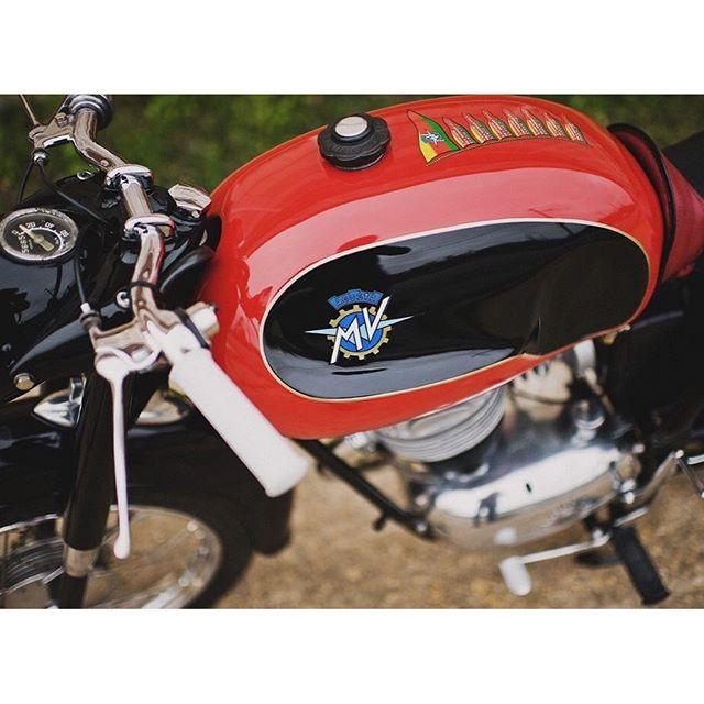 #TBT to back in the day when we restored this near basket case 1957 MV Agusta 125TRL.Photo @kylehale  #kickstartlife #bikeexif #croig #motorcyclerestoration