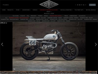 R100T Flat Tracker on Revival Cycles